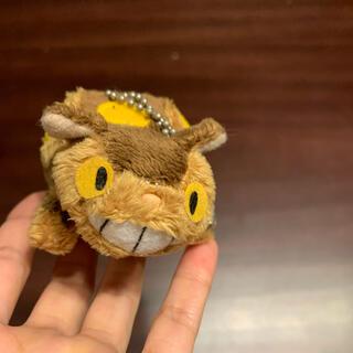 ジブリ(ジブリ)のトトロ 猫バス ぬいぐるみキーホルダー(ぬいぐるみ)