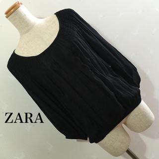 ザラ(ZARA)のZARA トップス (カットソー(長袖/七分))