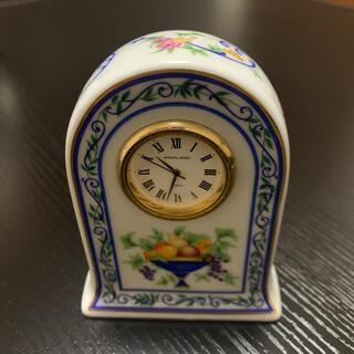 アビランド(Haviland)のHAVILAND   アビランド  陶器置時計 稼働品(置時計)
