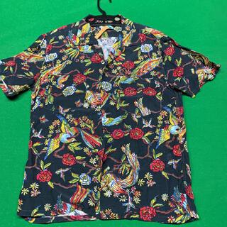 HOLLYWOOD RANCH MARKET - クリーニング済 聖林公司 アロハシャツ半袖