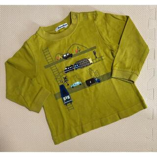 ファミリア(familiar)のファミリア 長袖Tシャツ ロンT  トップス 90サイズ(Tシャツ/カットソー)