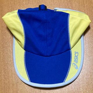 アシックス(asics)のアシックス ランニング用キャップ 55〜57㎝ 新品(キャップ)
