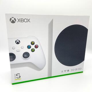 エックスボックス(Xbox)の【Xbox】Xbox Series S 新品未開封(家庭用ゲーム機本体)