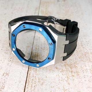 G-SHOCK - カシオーク第3世代カスタムパーツ シルバー×ブルー