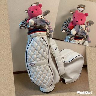 キャロウェイゴルフ(Callaway Golf)の【美品‼️】キャロウェイ filly&レガシー レディース ゴルフクラブセット/(クラブ)