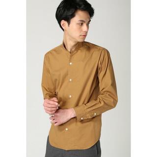 EDIFICE - EDIFICE スタンドカラーシャツ