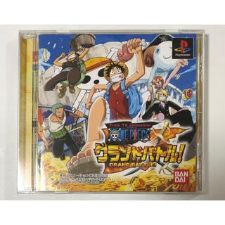プレイステーション(PlayStation)のプレステソフト『ONE PIECE グランドバトル!』(家庭用ゲームソフト)