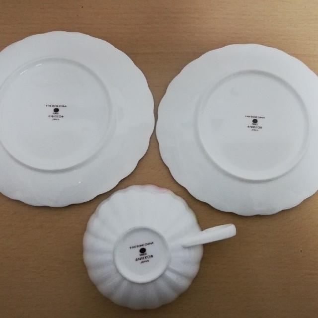 NIKKO(ニッコー)のNIKKO カップ&ソーサー カップ1 ソーサー2 ニッコー インテリア/住まい/日用品のキッチン/食器(食器)の商品写真