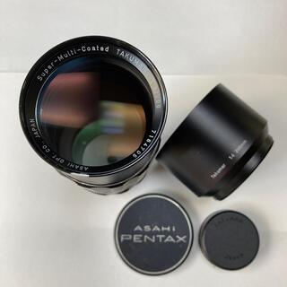ペンタックス(PENTAX)の美品 SMC TAKUMAR 200mm F4 純正前後CAP付 タクマー(レンズ(単焦点))