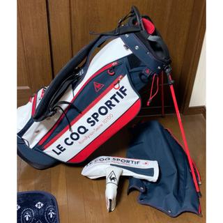 le coq sportif - ゴルフバッグ キャディーバッグ ルコック 綺麗