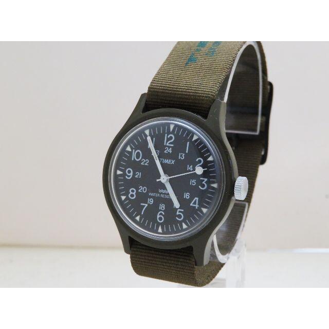TIMEX(タイメックス)のTIMEX キャンパー 手巻き ミリタリーウォッチ ヴィンテージ 蛍光 防水 メンズの時計(腕時計(アナログ))の商品写真