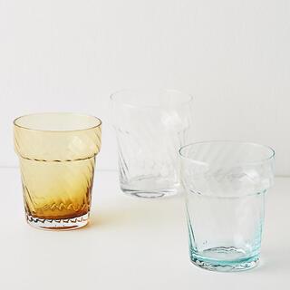 アンソロポロジー(Anthropologie)のアンソロポロジー ジュースグラス4個セット グラス コップ タンブラー(グラス/カップ)