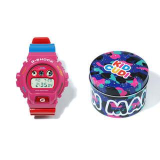 アベイシングエイプ(A BATHING APE)のbape x kid cudi g shock dw6900 gショック(腕時計(デジタル))