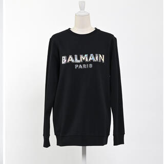 BALMAIN - BALMAIN 3Dロゴスエット