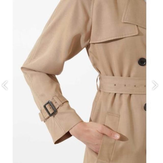 BOSCH(ボッシュ)のBOSCH / ボッシュ テンセルツイルトレンチコート 美品 レディースのジャケット/アウター(トレンチコート)の商品写真