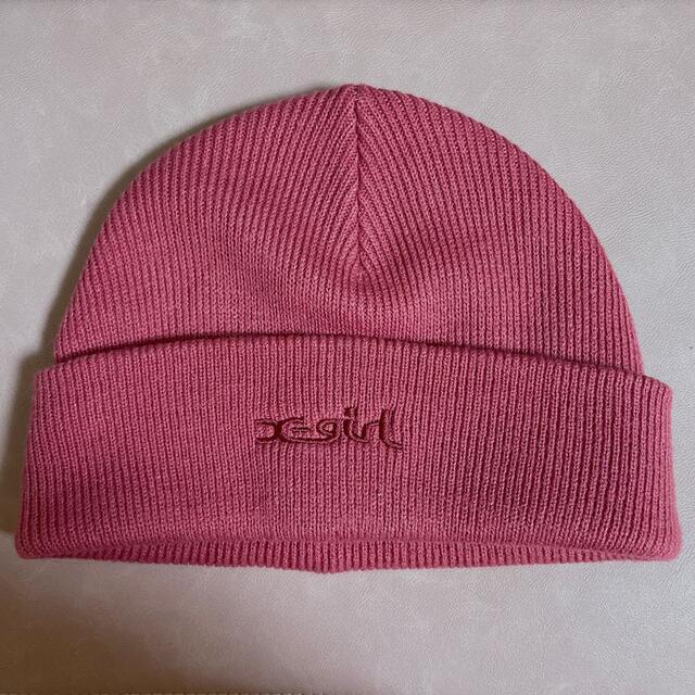 X-girl(エックスガール)のビーニー X-girl レディースの帽子(ニット帽/ビーニー)の商品写真