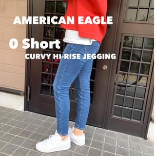 アメリカンイーグル(American Eagle)のアメリカンイーグル ジェギング 0short(スキニーパンツ)