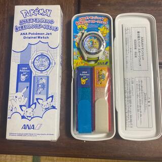 ANAポケモンジェット 着せ替えバンドスポーツウォッチ(腕時計)