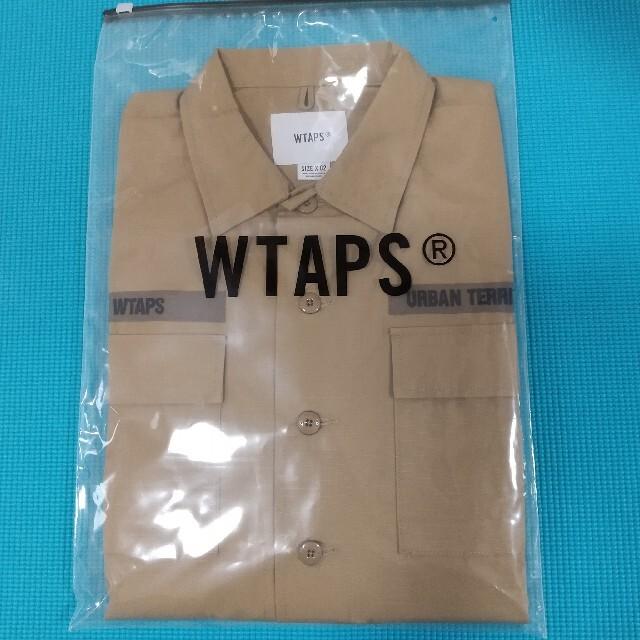 W)taps(ダブルタップス)の【新品】wtaps 21SS JUNGLE 02 BEIGE サイズM メンズのジャケット/アウター(ミリタリージャケット)の商品写真