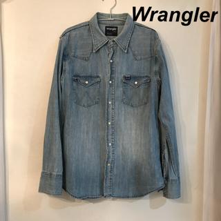 ラングラー(Wrangler)の人気定番!ラングラーデニムシャツLシャツ(シャツ)