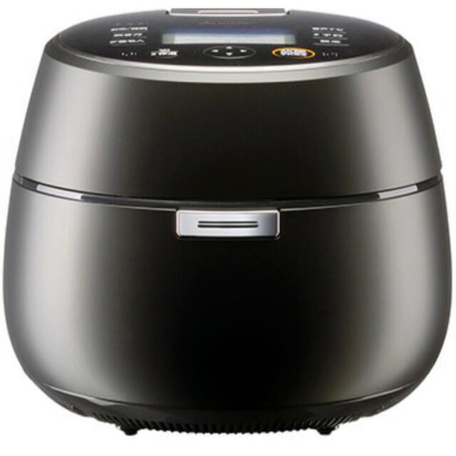 三菱(ミツビシ)の三菱電機 本炭釜 KAMADO 5.5合IH炊飯器 NJ-AWA10-B 黒真珠 スマホ/家電/カメラの調理家電(炊飯器)の商品写真