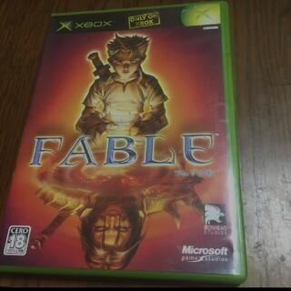 エックスボックス(Xbox)のxbox フェイブル(家庭用ゲームソフト)
