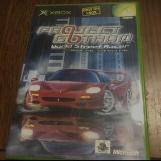 エックスボックス(Xbox)のxbox プロジェクトゴッサム ワールド ストリート レーサー(家庭用ゲームソフト)