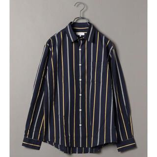 シップスジェットブルー(SHIPS JET BLUE)のSHIPS JET BLUE: ワイドストライプ レギュラーカラーシャツ M(シャツ)