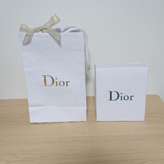 ディオール(Dior)のDior 箱 紙袋 袋 ショッパー プレゼント プレゼント用 リボン ラッピング(ショップ袋)