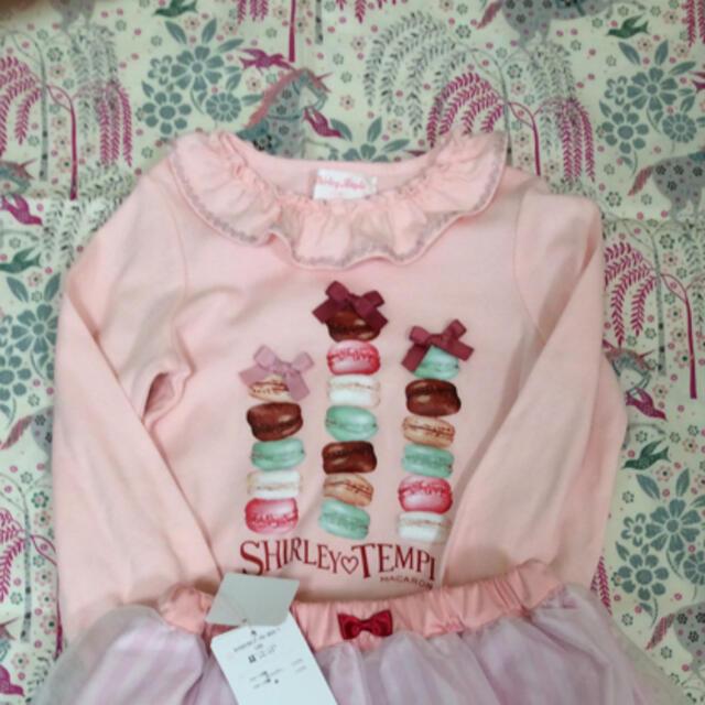 Shirley Temple(シャーリーテンプル)のシャーリーテンプル  マカロン  Tシャツ キッズ/ベビー/マタニティのキッズ服女の子用(90cm~)(Tシャツ/カットソー)の商品写真