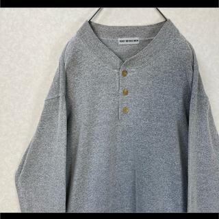 イッセイミヤケ(ISSEY MIYAKE)のISSEY MIYAKE イッセイミヤケ カットソー ロング袖丈 グレー M(Tシャツ/カットソー(七分/長袖))