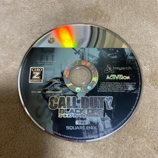 エックスボックス(Xbox)のcall duty black ops(家庭用ゲームソフト)