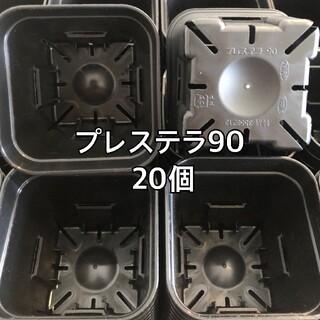 プレステラ90 黒 20個(プランター)