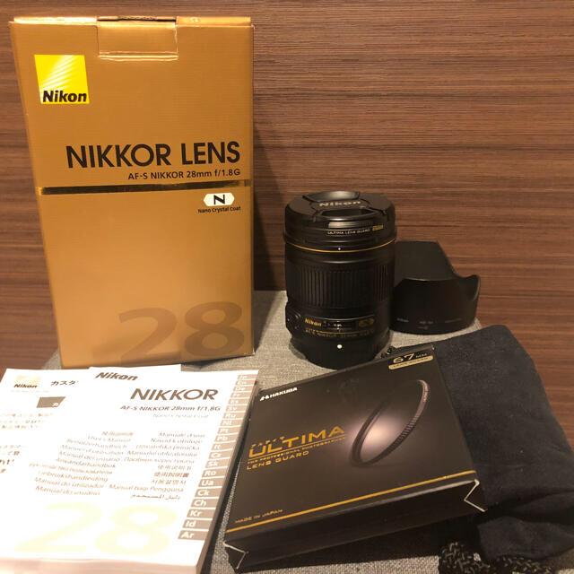 Nikon(ニコン)のニコン NIKON AF-S NIKKOR 28mm F1.8G フルサイズ スマホ/家電/カメラのカメラ(レンズ(単焦点))の商品写真