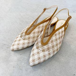 マメ(mame)の(美品)mame kurogouchi  サンダル(ローファー/革靴)