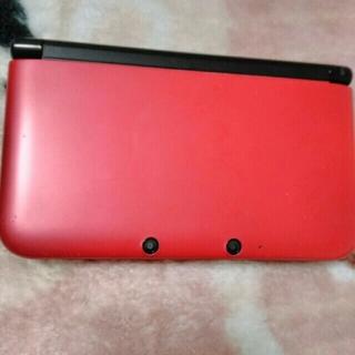 ニンテンドー3DS(ニンテンドー3DS)の3dsll  レッド✖ブラック(携帯用ゲーム機本体)