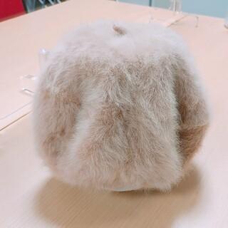 毛皮ニット帽(小道具)