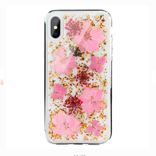 iphone xsmax 花柄ケース(iPhoneケース)