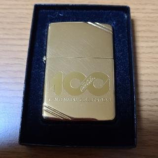 ジッポー(ZIPPO)のコカコーラ 100周年記念Zippoライター(タバコグッズ)