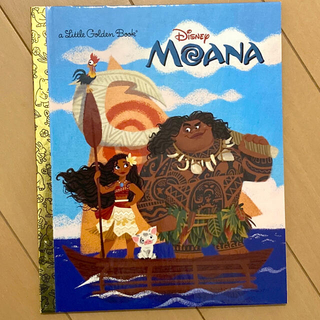 ディズニー(Disney)のMOANA (a Little Golden Book) 洋書(洋書)