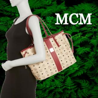 エムシーエム(MCM)の★SALE☆【MCM】リバーシブルリズショッパーミディアムバッグ(トートバッグ)