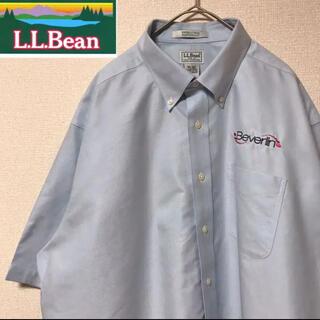 エルエルビーン(L.L.Bean)のエルエルビーン ワークシャツ ボタンダウン 半袖(シャツ)