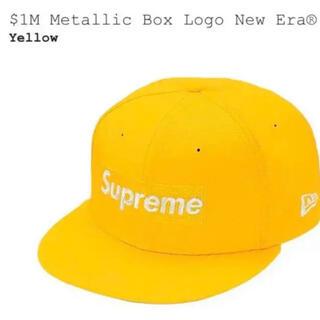 アベイシングエイプ(A BATHING APE)のSupreme $1M Metallic Logo New Era 7 5/8(キャップ)