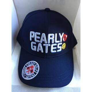 PEARLY GATES - パーリーゲイツ キャップ ネイビー 帽子 タグ無し 未使用 ゴルフ