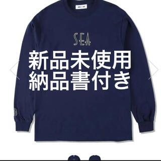 シー(SEA)のwind and sea SEA T-SHIRT シャツ(Tシャツ/カットソー(七分/長袖))