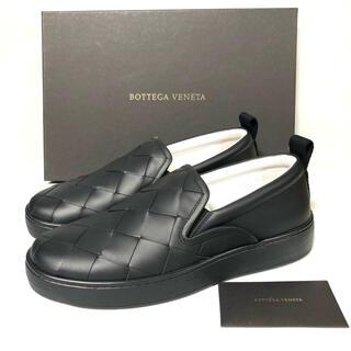 ボッテガヴェネタ(Bottega Veneta)のBOTTEGA VENETA  イントレチャートスリッポン シューズ(スリッポン/モカシン)