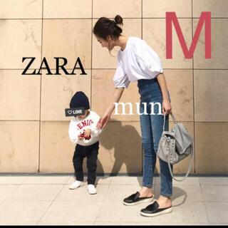 ザラ(ZARA)のZARA ボタン付き バルーン Tシャツ(Tシャツ(半袖/袖なし))