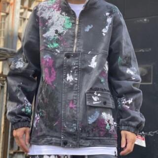 ワニマ(WANIMA)のLEFLAH jacket(Gジャン/デニムジャケット)