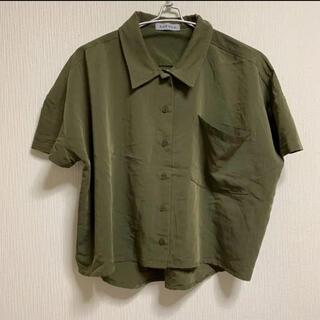 ラスボア バッグ網目 デザイン シャツ(シャツ/ブラウス(半袖/袖なし))