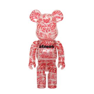 アトモス(atmos)のBE@RBRICK atmos × Coca-Cola 1000% ベアブリック(その他)